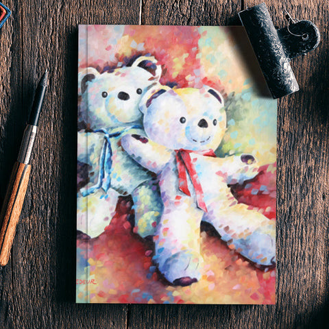 Teddy Twins Notebook | Artist : Béatrice BEDEUR