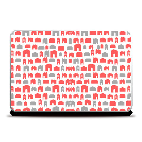 RED or GREY Laptop Skins | Artist : PUJA KUMAR