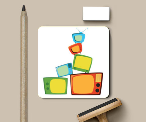TV time Coasters | Artist : Juergen Dsouza