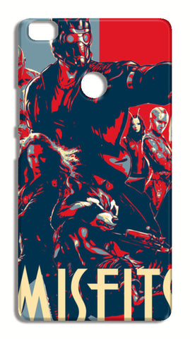 Guardians Of Galaxy Misfits Xiaomi Mi Max Cases | Artist : LinearMan