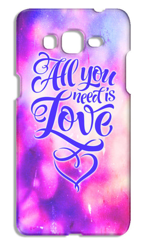 All you need is Love Samsung Galaxy Grand Prime Cases | Artist : Vaishak Seraphim