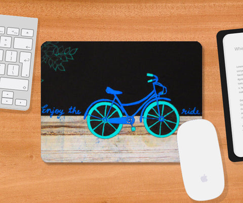 Enjoy the ride Mousepad | Artist : Purvi Gadewar
