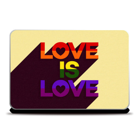 Laptop Skins, Love is Love Laptop Skins | Artist : Tanvi C, - PosterGully
