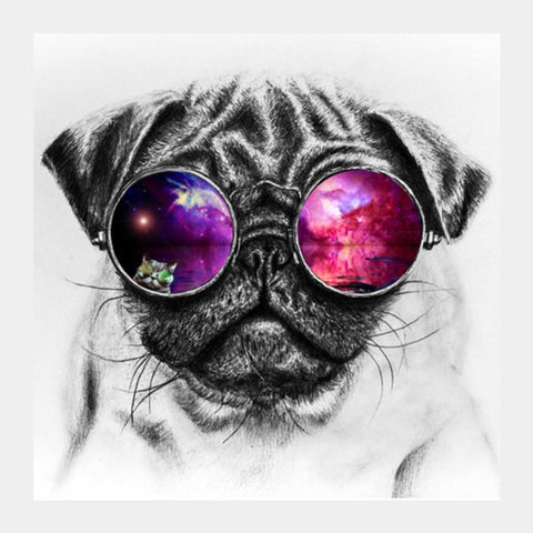 PosterGully Specials, Sassy Dog Square Art Prints | Artist : Design|A, - PosterGully