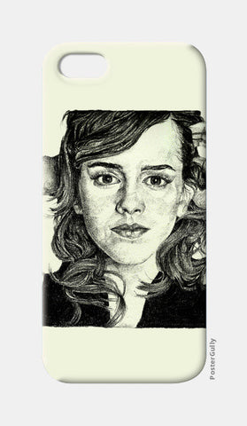 iPhone 5 Cases, Emma Watson iPhone 5 Case | Artist: Pushkar Priyadarshi, - PosterGully