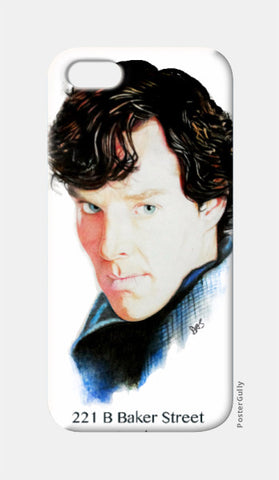 iPhone 5 Cases, Sherlock iPhone 5 Case | Artist: Tridib Das, - PosterGully