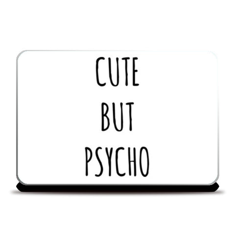 Cute But Psycho Minimal Laptop Skins | Artist : Gub Gub