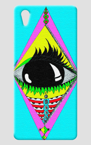 the big eye One Plus X Cases | Artist : Anjuri Jain