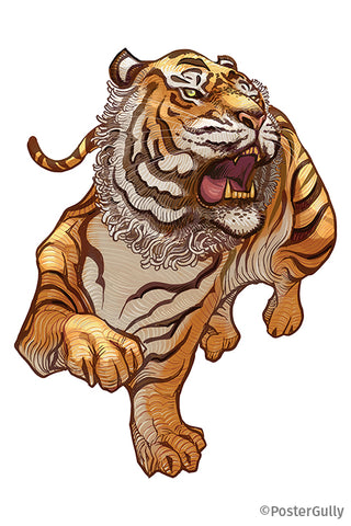Roaring Tiger Artwork