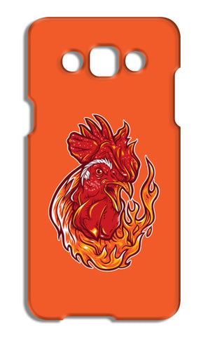 Rooster On Fire Samsung Galaxy A5 Cases | Artist : Inderpreet Singh