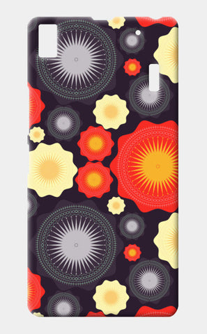 Geometric object pattern illustration Lenovo K3 Note Cases | Artist : Designerchennai
