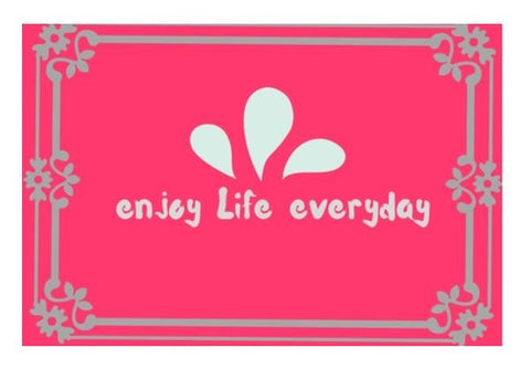 PosterGully Specials, enjoy life everyday Wall Art  | Artist : Pallavi Rawal, - PosterGully