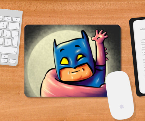 batman superman fan art Mousepad | Artist : Juergen Dsouza