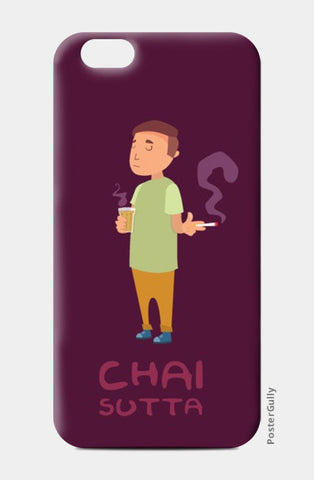 iPhone 6 / 6s, Chai aur Sutta iPhone 6 / 6s Case | Ronak Mantri, - PosterGully