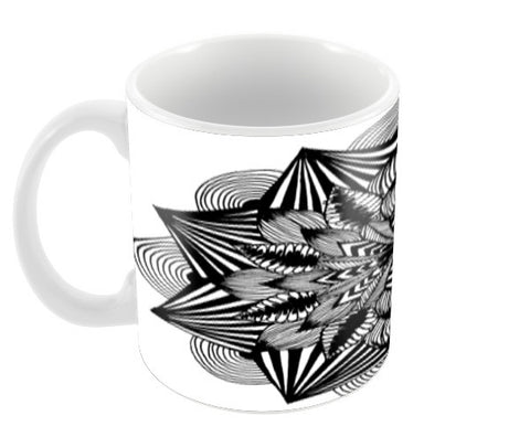 Sharp Coffee Mugs | Artist : In the beginning..