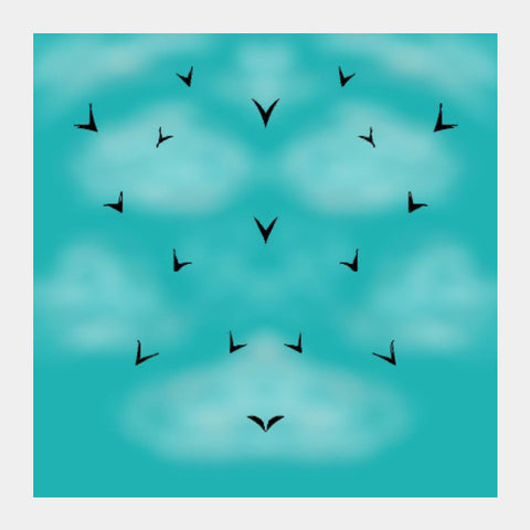 Square Art Prints, Free Birds Square Art Prints | Pratyasha Nithin, - PosterGully