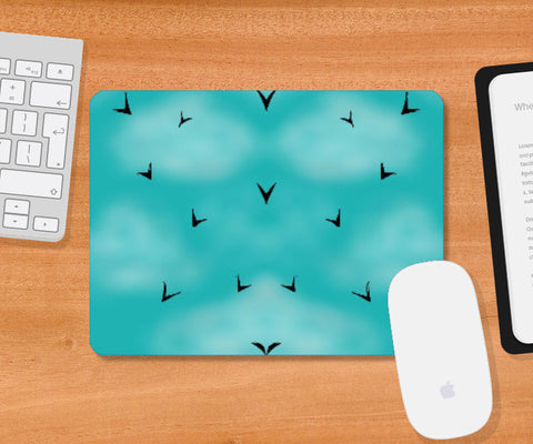 Mousepad, Free Birds Mousepad | Pratyasha Nithin, - PosterGully