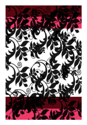 Leaves Pattern Art PosterGully Specials