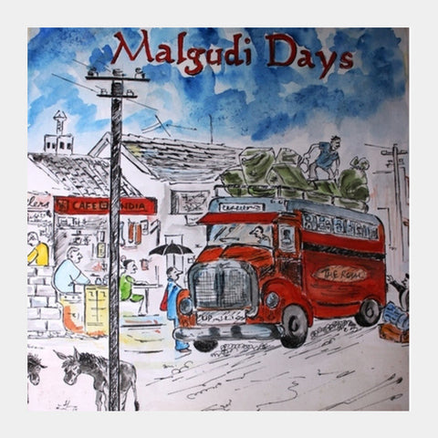 Malgudi Days Square Art Prints | Artist : Binny Malik