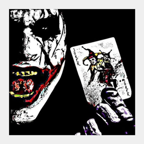 joker Square Art Prints | Artist : avanthi amarnath