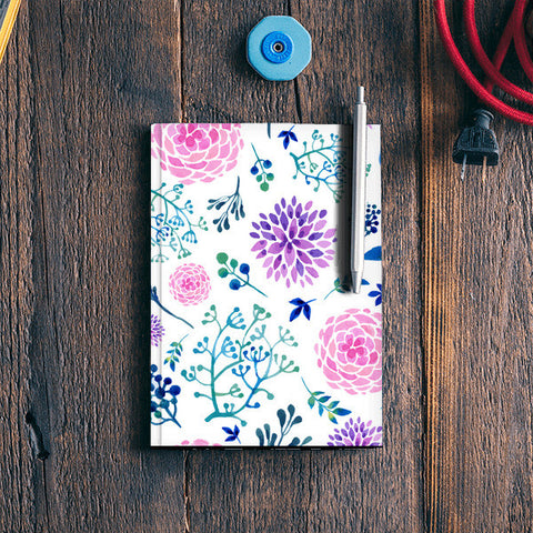 Watercolour Spring Notebook | Artist : Suraaj Ajithakumar