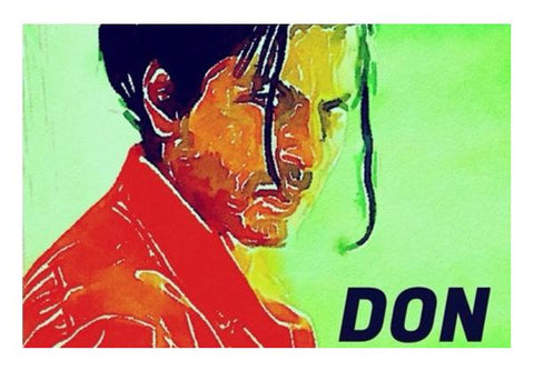 Shahrukh Khan As Don Wall Art PosterGully Specials