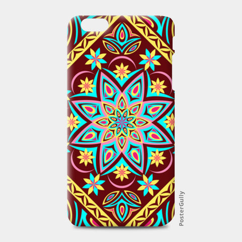 iPhone 6 Plus / 6s Plus Cases, Colourful Mandala iPhone 6 Plus / 6s Plus Cases | Artist : Madhumita Mukherjee, - PosterGully