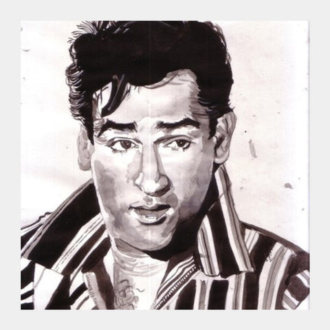 Shammi Kapoor Made Choreographers Dance To His Tune Square Art Prints PosterGully Specials