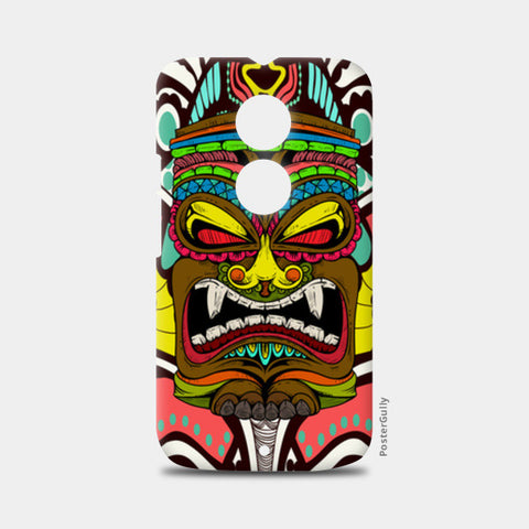 Tiki Monster Moto X2 Cases | Artist : Pulkit Taneja