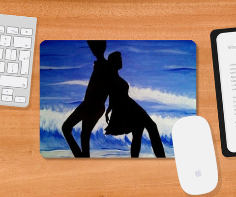 Mousepad, nature and us Mousepad | Artist : Pallavi Rawal, - PosterGully