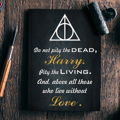 Harry potter qoutes Notebook | Artist : Gauri Deshpande