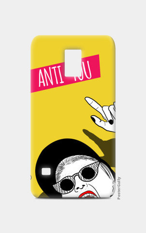 anti you Samsung S5 Cases | Artist : DISHA BHANOT