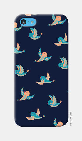 Birds iPhone 5c Cases | Artist : Amantrika Saraogi