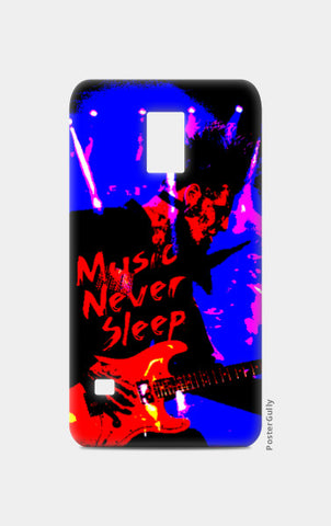 Samsung S5 Cases, Music Never Sleep Samsung S5 Case | Artist: Boys Theory, - PosterGully