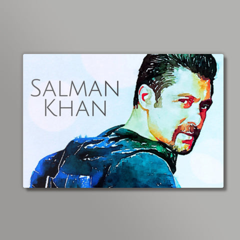 Salman Khan Metal Prints | Artist : Delusion