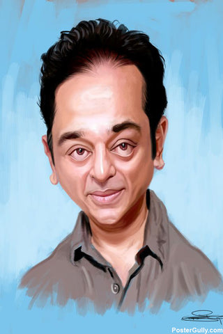 Brand New Designs, Kamal Hassan Artwork | Artist: Sri Priyatham, - PosterGully - 1