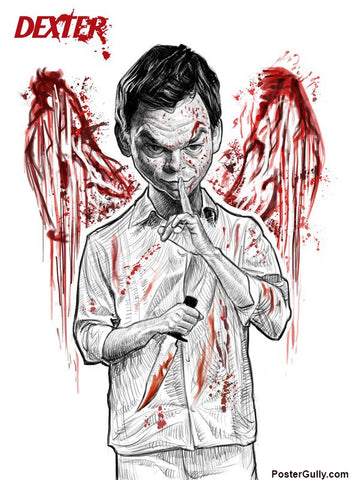 Wall Art, Dexter Wings Artwork | Artist: Sri Priyatham, - PosterGully - 1