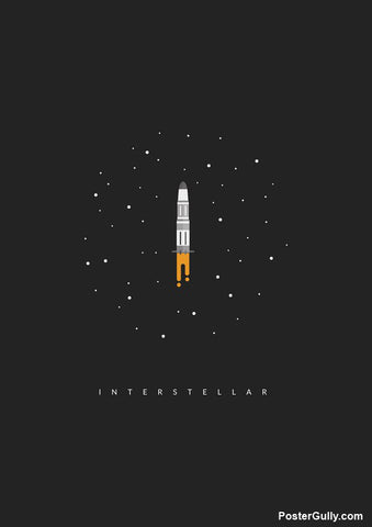 Brand New Designs, Interstellar Endurance Artwork | Artist: Devansh Gandhi, - PosterGully - 1
