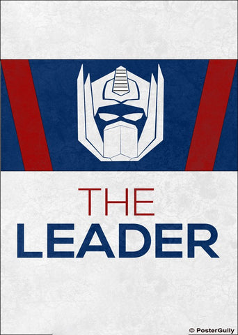 Wall Art, Optimus Prime Leader  Artwork | Artist: Kumaraditya Dash, - PosterGully - 1