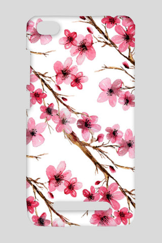Beautiful Pink Cherry Blossom Floral Branches Design Redmi 4A Cases | Artist : Seema Hooda