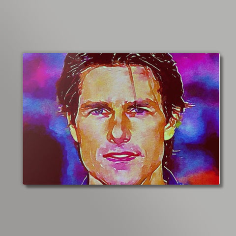Tom Cruise  Metal Prints | Artist : Delusion