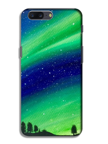 The Northern Lights OnePlus 5 Cases | Artist : Akshita Shah
