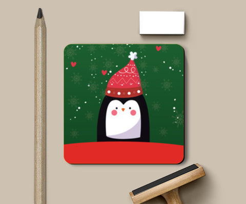 Happy Holidays Coasters | Artist : Ayushi Jain