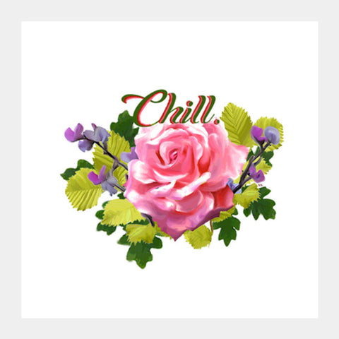 Chill Square Art Prints | Artist : Sreya Sreedhar