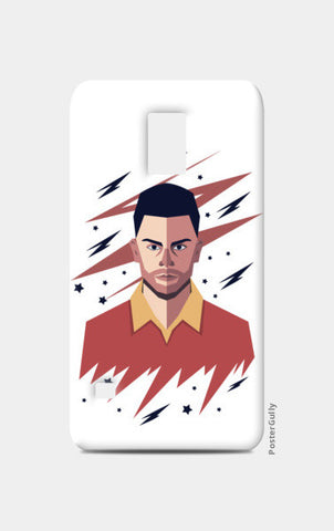 Virat Kohli abstract geometric  Samsung S5 Cases | Artist : mohit lakhmani