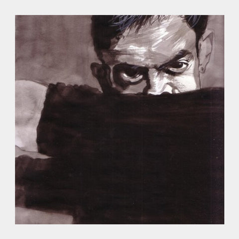 Aamir Khan Is A Passionate Actor And Filmmaker Square Art Prints PosterGully Specials
