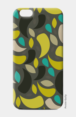 Seamless leaf geometric shapes iPhone 6/6S Cases | Artist : Designerchennai