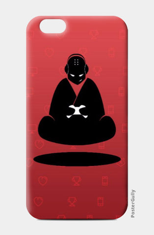 iPhone 6 / 6s, Red Monk iPhone 6 / 6s Case | Artist: GamingMonk, - PosterGully