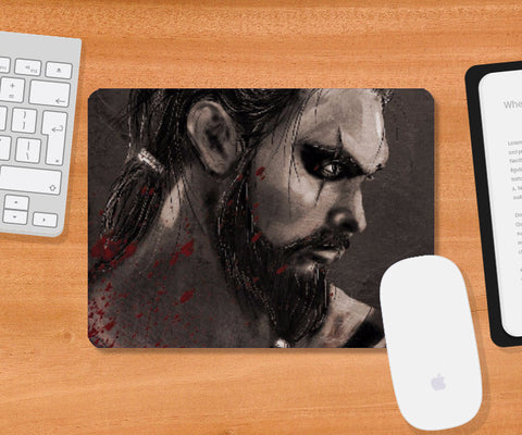 Mousepad, Khal Drogo Game Of Thrones Mousepad | Artist: Parikshit Deshmukh, - PosterGully