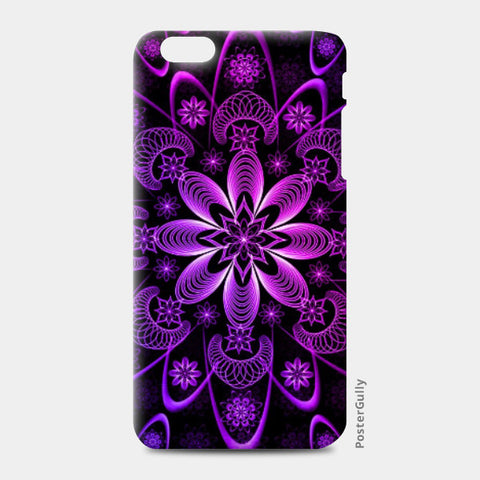 iPhone 6 Plus / 6s Plus Cases, Floral Fractal iPhone 6 Plus / 6s Plus Case | Madhumita Mukherjee, - PosterGully